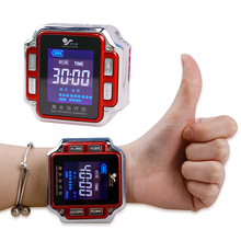 650nm Laser Physiotherapy Watch Diode LLLT for Rhinitis Diabetes Hypertension Tr