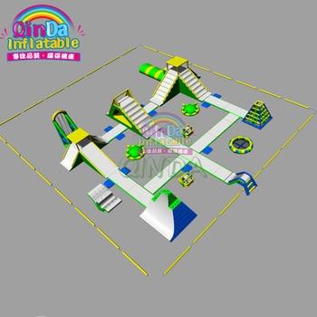 Parque Acuático de atracciones de alta calidad parque acuático flotante