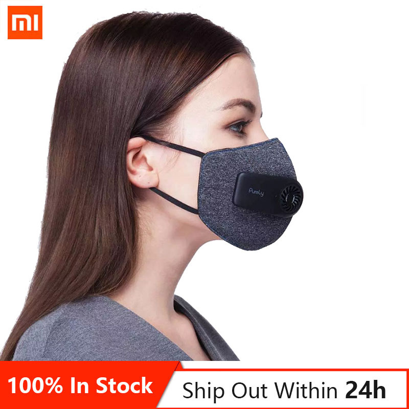 In Stock Xiaomi Mijia Youpin Pear Purely Electric Fresh Air Mask Classic Style Superior Purification 3D Free Breathable|Smart Remote Control|   - AliExpress