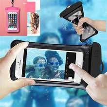 Summer Waterproof Pouch Swimming Phone Case Cover Holder For iphone Huawei Xiaomi Meizu Samsung Sony HTC ZTE Nokia Oneplus LG