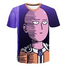 Harajuku 3D Tshirts One Punch Man Season2 Men/women Summer T Shirt 3D Print Tshirt for Boys Girls Children Clothes Streetwear