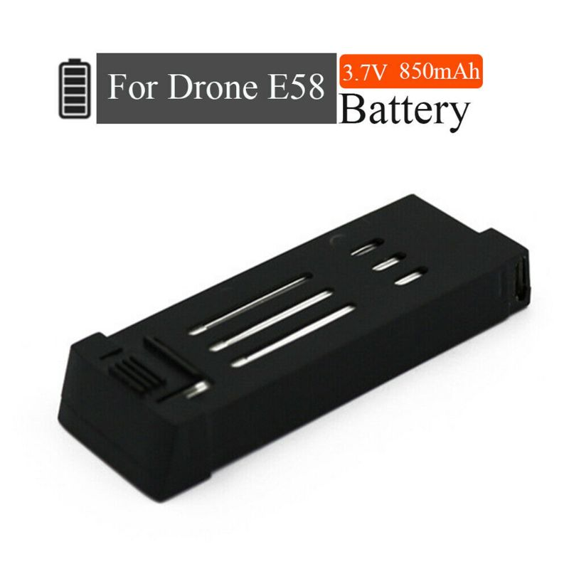 Upgrade Version 3.7V 850mAh Lipo Battery For Eachine E58 L800 JY019 S168 Drone X Pro RC Drone Quadcopter