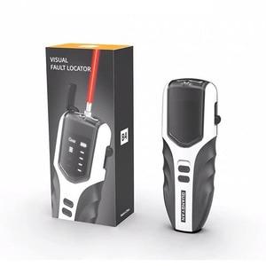 Fiber Optic Tester Pen VFL Type Red Laser optical Adjustable fiber optic red light pen Visual Fault Locator Rechargeable 5-30MW