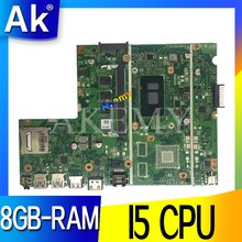 เมนบอร์ดแล็ปท็อปสำหรับ ASUS X541U X541UVK X541UAK X541UA X541UV X541UJ Mainboard Test OK W/I5-6200U CPU 8GB-RAM(China)