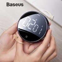 Baseus Magnetico Digitale Timer Manuale Conto Alla Rovescia Timer da Cucina Conto Alla Rovescia Sveglia Meccanico Cucina Timer di Allarme Contatore Orologio