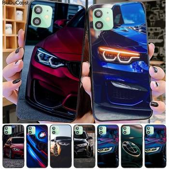Bmw Blue Red Sport Car Phone Case For iPhone 11 7 Case For iPhone 11 Pro Max X XS XR XS MAX 8 7 6s Plus 5 SE Case image