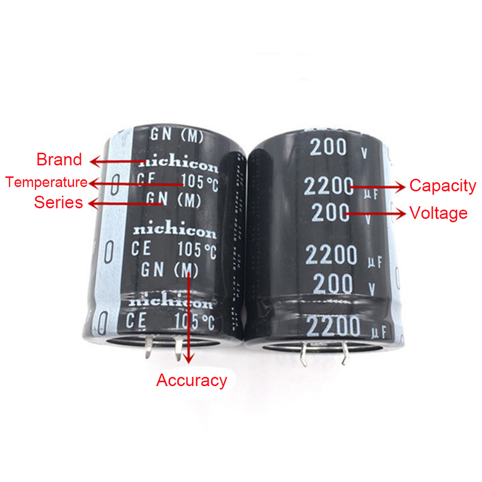 5pcs 2200uF 200V Japan Nichicon LS 35x45mm 200V2200uF Snap-in Capacitor