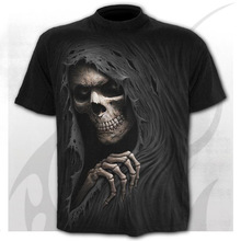 The New Skull Men's T-Shirts Scary 3D Style Shirts Funny O-neck t-shirt Summer Fashion Tops Boys Clothing Large Size Streetwear