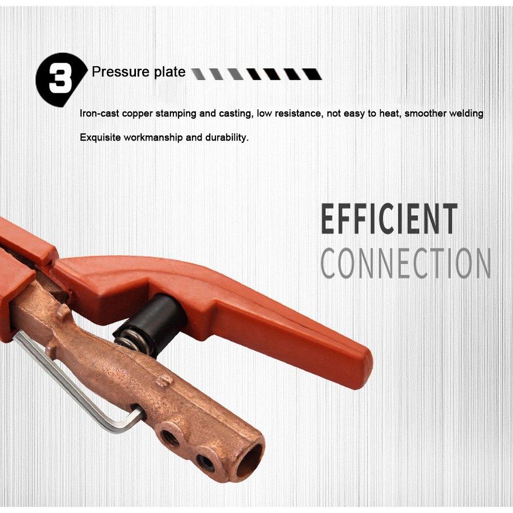 Professional 300A/500A Welding Electrode Holder  Electrode ARC Welding Electrode Clamp TIG Welder MIG Inverter Welding Machine