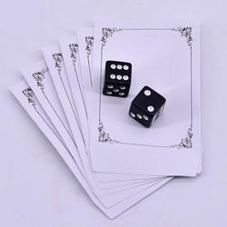 Rússia dice deluxe forçando truques de magia de dados perto magia ilusão de dados magie metalismo adereços brinquedos clássicos fácil de fazer