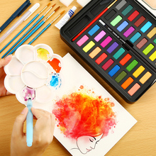 Water Color Paint Solid Watercolor Set 36 Special Hand-painted Portable Brush Painting Art Supplies