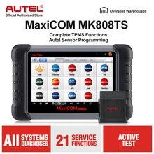 Autel MaxiCheck MK808TS MX808TS OBD2 Công Cụ Chẩn Đoán ODB2 Máy Quét Ô Tô Mã TPMS Lập Trình Viên IMMO DPF PK MK808 TS608