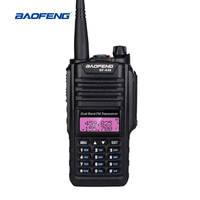 Baofeng BF A58 Walkie Talkie IP67 Waterproof 128CH Dual Band UHF VHF Two Way Radio Handheld FM Transceiver CB Ham Radio Station