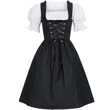 Hot New Arrival Plus Size Female German Oktoberfest Dirndl Dress Octoberfest Bavarian Beer Maid Costume