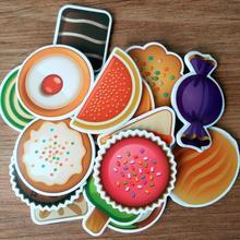 16pcs Animal Fridge Magnets Refrigerator Magnet Fruit Whiteboard Sticker Adult Kids Children Toy Birthday Gifts Home Decoration