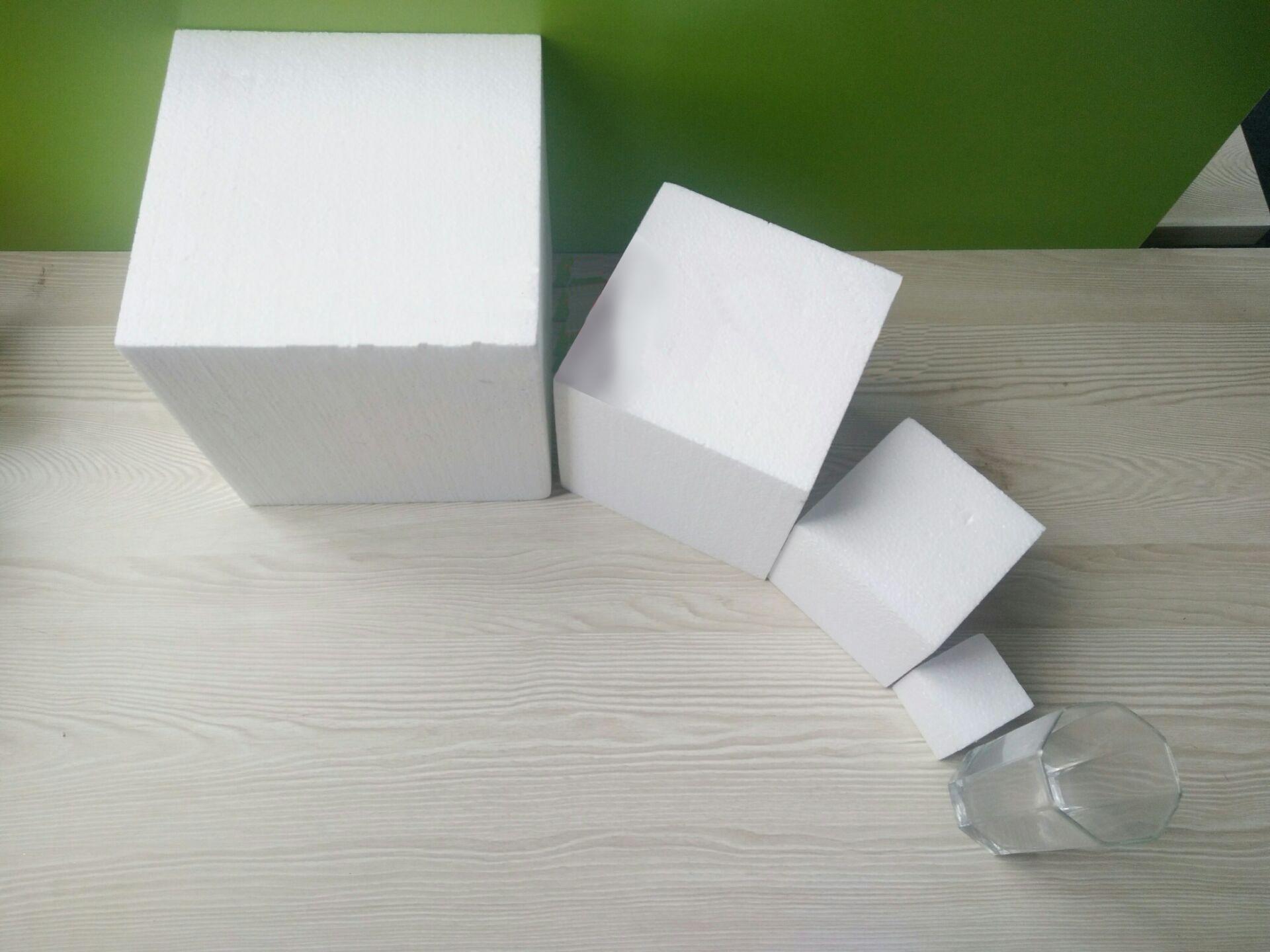 Polystyrene Styrofoam Foam Cube Educational Tools /toys Children/kids DIY Handmade Materials Many Sizes