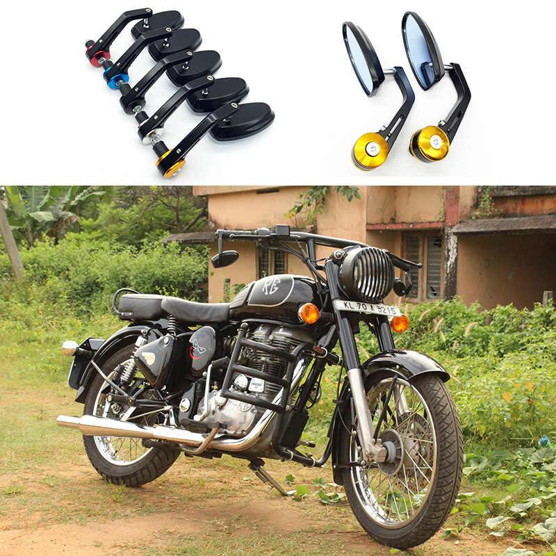 "Standard moto moto guidon barres rondes fin poids noir 22mm 7//8/"""