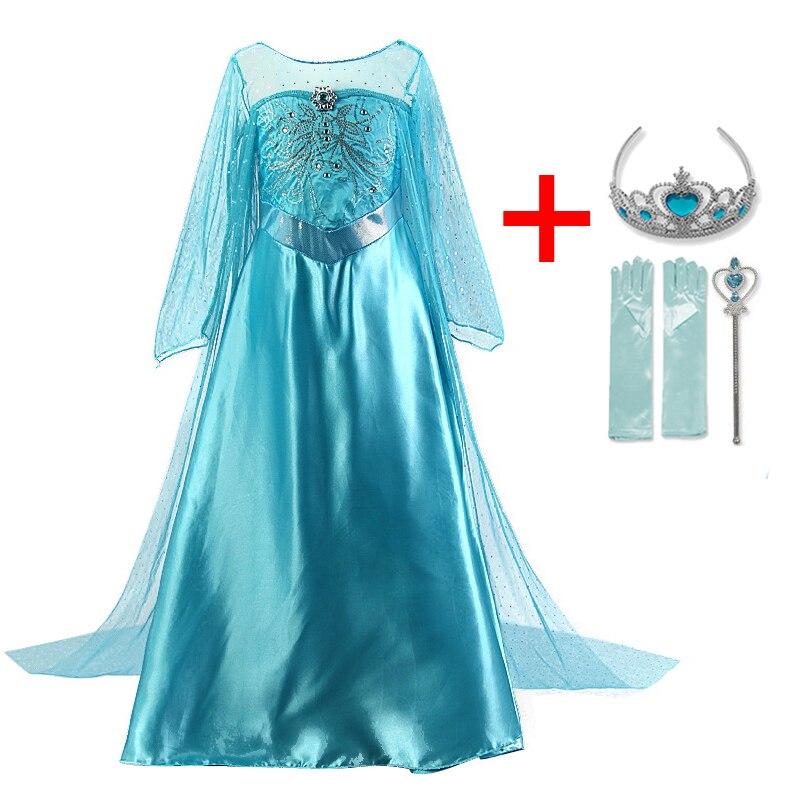 Children Girls Dress Christmas Costume Winter Clothes Kids Princess Dresses For Girl Dress Birthday Party Wear 3