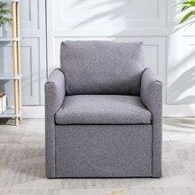 Salon simple canapé amour siège luxe appartement chambre hôtel fauteuil Accent salon canapé loisirs tissu café chaise gris