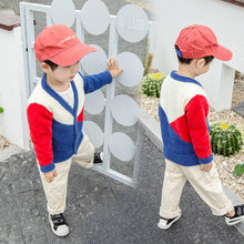 Baby Boys Wool Sweater Knitted Cardigan Jacket Baby Patchwork Sweater Coat Girls Cardigan Toddler Boys Knitwear High Quality цены онлайн
