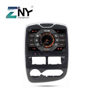 """Image 1 - 10.1 """"אנדרואיד 10 רכב GPS סטריאו עבור רנו קליאו 2013 2014 2015 2016 2017 2018 בדש 1 דין רדיו אודיו המולטימדיה Headunit"""