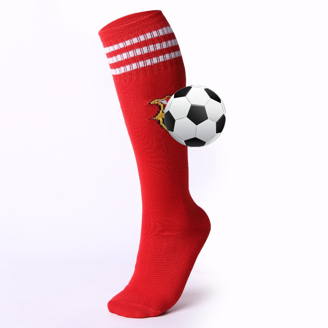 Adult Kids Professional Soccer Socks Football Club Breathable Knee High Training Long Stocking Sports Sock for Boys Girls