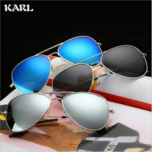 Luxury Polarized Sunglasses Women Fashion Colorful Coated Anti-reflective UV Protection Men Metal Eyewear Shades