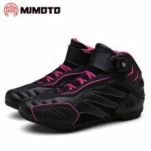 Ботинки в байкерском стиле; сапоги для верховой езды; обувь для мотоциклетных гонок; Байкерская Уличная обувь для путешествий; Мужские дышащие ботинки в байкерском стиле; Botas