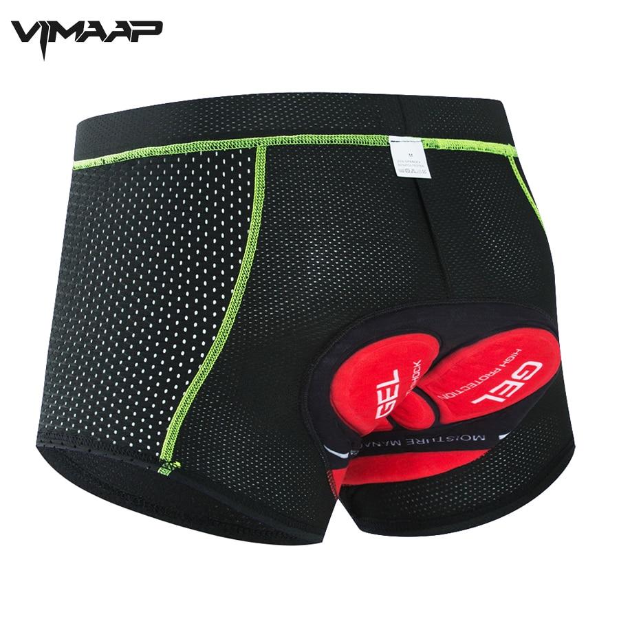 VIMAAP Upgrade Cycling Shorts Mesh Men's Cycling Underwear 5D Gel Pad Shockproof Cycling Underpant MTB Shorts Bike Underwear
