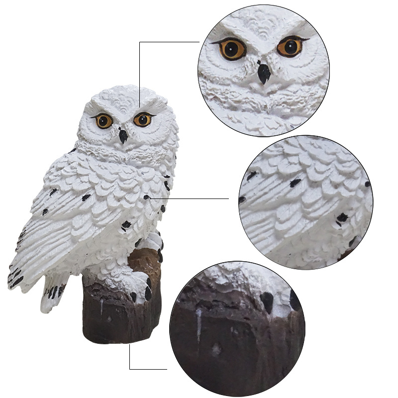 cheapest Solar Led Light Outdoor Lighting Garden Waterproof Night Lights Owl Shape Outdoors Lamp Stake Lawn Lamps Christmas Decoration