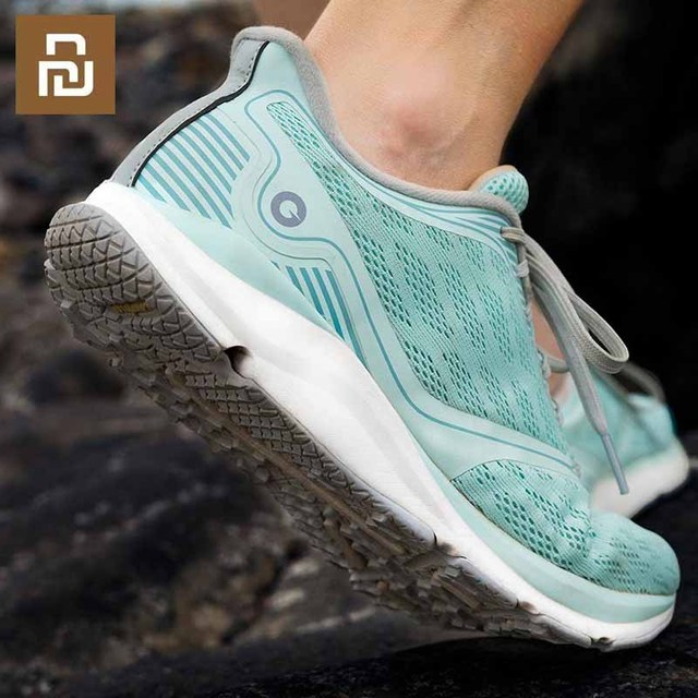 Youpin Zapatillas de correr Antelope para Xiaomi Amazfit, calzado deportivo inteligente de goma con Chip inteligente y Control por aplicación