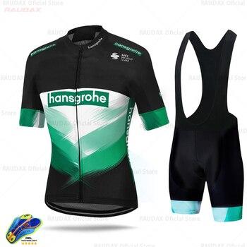 2020 Boraing Hansgrohe Ropa Ciclismo Hombre verano Ciclismo Jersey transpirable camisa de...