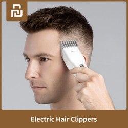 XiaoMi ENCHEN męskie elektryczne spinki do włosów Clippers bezprzewodowe maszynki do strzyżenia dorosłych maszynki do golenia profesjonalne trymery rogu Razor Hairdresse