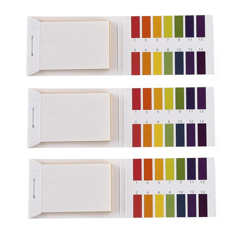 80 Strips PH Test Paper Strips Full PH Meter PH Controller 1-14st Indicator Litmus Paper Water Soilsting Kit Laboratory Tools