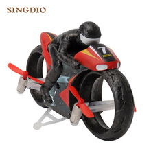 Kids plastic mini remote control model small toy motorbikes brushless rc racing moto radio motorcycle flying children's toys