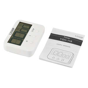 Countdown-Timer Kitchen-Timer-Loud Large Simple Operation with Magnetic Display-Screen