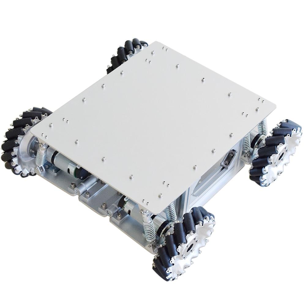 Car-Chassis-Kit Motor Mecanum-Wheel-Robot Planetary-Gear Raspberry Pi Arduino Stm32