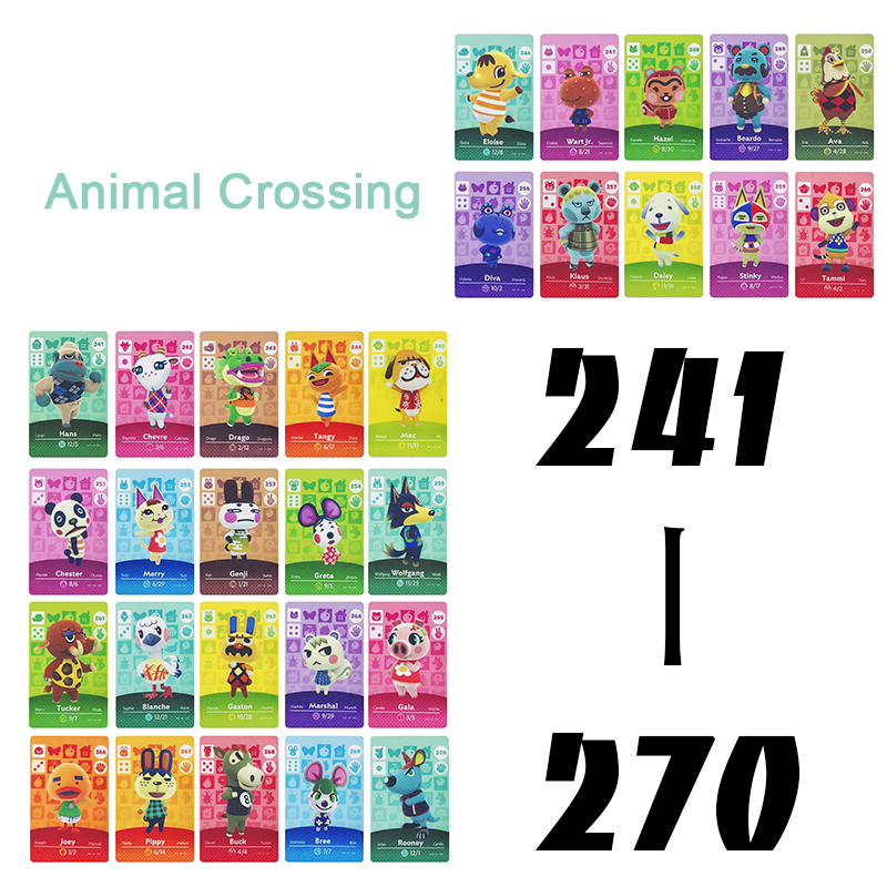 Animal Crossing Card Amiibo Card Work for nintendo switch NS Games Series 3 (241 to 270) image
