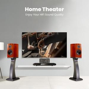 Image 5 - FX Audio FX502SPRO Digital High Power Amplifier HIFI 2.0 Home Mini Professional Amp TPA3250 NE5532 80W *2 4 8Ohm With Power Plug