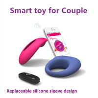 Magic Motion App Smart Vibrator Sex Ring Toy Candy+Dante Set Vibrating Penis Delay Cock Sleeve Clitoris Panties Stimulator