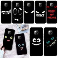 цена на LJHYDFCNB my phone Black TPU Soft Rubber Phone Cover For Huawei Mate 9 10 10Lite 20 20X 10Pro 20Pro 20Lite Enjoy 9Plus 10Plus