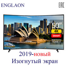 Телевизор 50'дюйма ENGLAON led television смарт тв 4k tv UHD led tv 4K Curved tv 49 TVs smart tv Android 7.0(China)