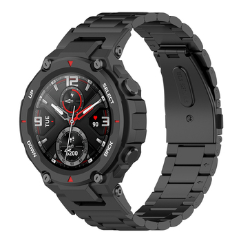 Stainless Steel Watchband For Xiaomi Huami Amazfit T-Rex TRex Smart Wristband Replaceable Bracelet Strap For Amazfit Ares Correa