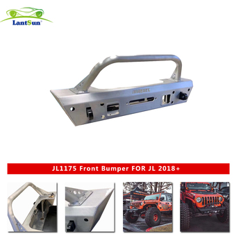 Front bumper For Jeep For wrangler JL 2018+ 4x4 parts for jeep for wrangler accessories 5083 alloy aluminum Winch bracket JL1175