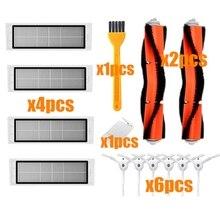 Spazzola principale + filtro hepa + spazzola laterale per xiaomi mi Robot aspirapolvere pezzi di ricambio xiaomi aspirapolvere accessori roborock s5