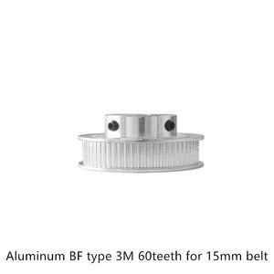 BF Тип 60 зубьев 3 м зубчатый шкив диаметр 8 мм для HTD 15 мм ремень используется в линейном шкиве 60 зубьев 60T