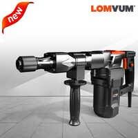 LOMVUM 220V 26mm marteau rotatif électrique puissance perforateur électrique marteaux accessoires de marteau d'impact domestique
