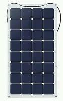 Can make light into electricity solar panels, 12V 100W semi flexible monocrystalline silicon solar photovoltaic panels