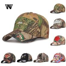 Mens Caps Hats Baseball-Caps Trucker-Cap Snapback Embroidery Streetwear Camouflage Hip-Hop