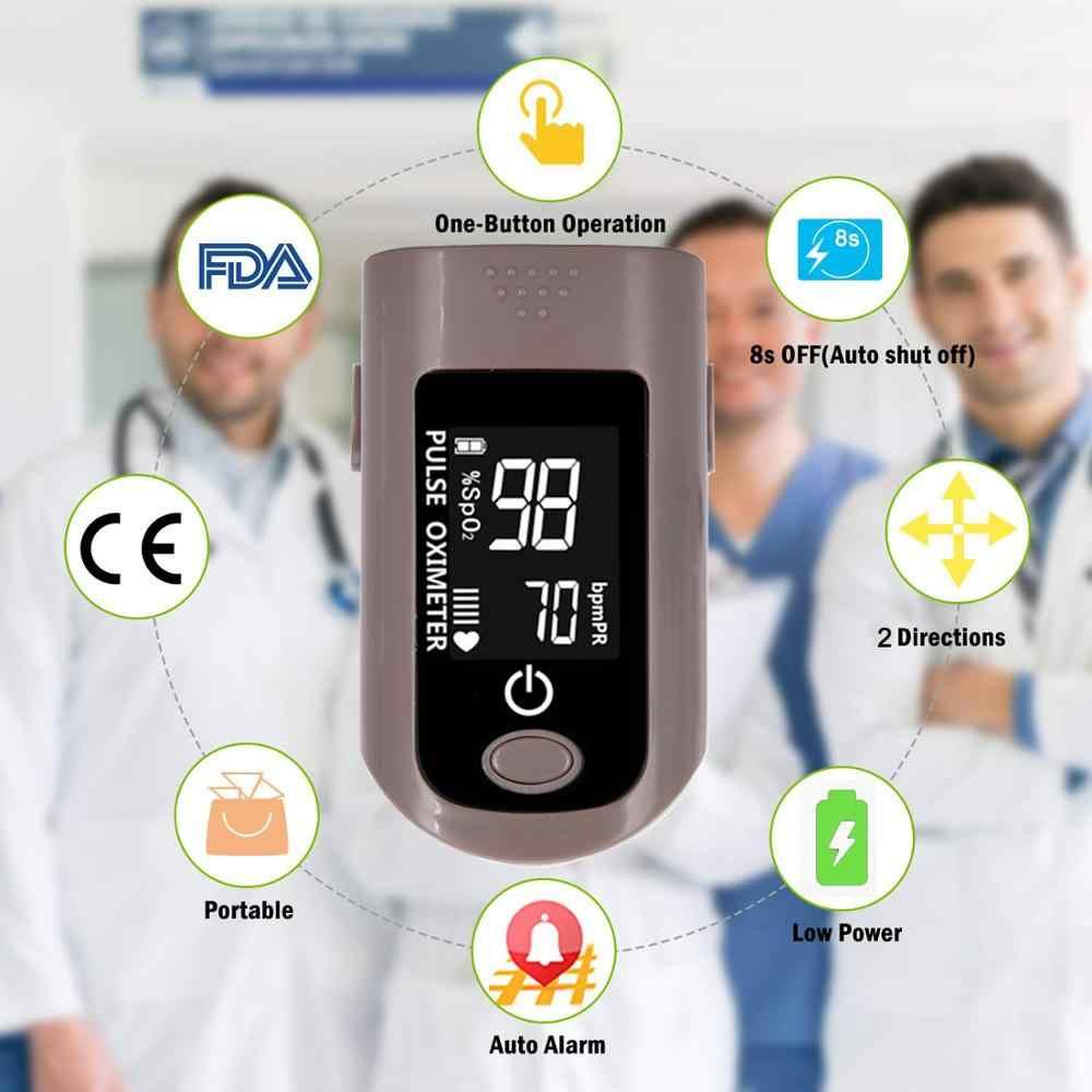 OLIECO 最新指先パルスオキシメータ Portbable 血液酸素飽和度計家庭アラーム SPO2 PR Momitor 6 モード Lcd ディスプレイ